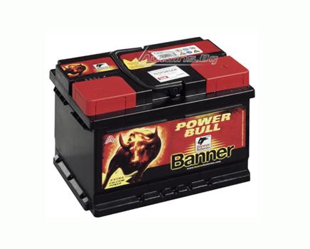Купувам Акумулатор Banner Power Bull 55Ah 480 R+