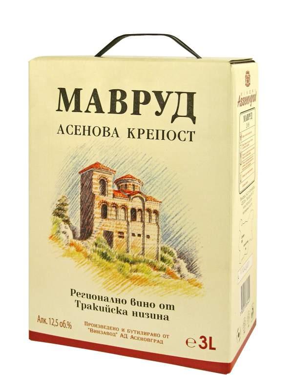 Купувам Червено вино Мавруд BiB - 3 l