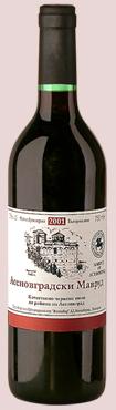 Купувам Червено вино Мавруд КНП