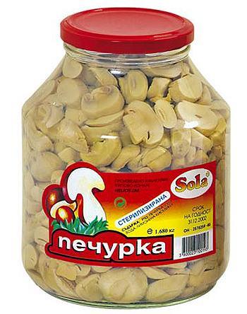 Купувам Печурки, консервирани, нарязани