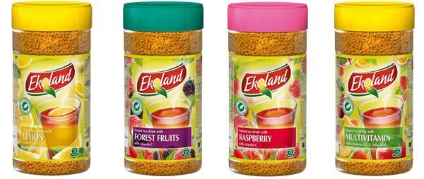 Купувам Разтворима напитка с екстракт от чай Ekland