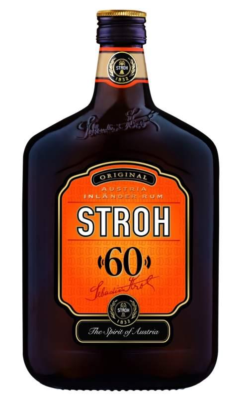 Купувам Ром STROH 60%, 0.5l