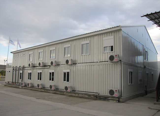 Конфигурация от контейнери 7 броя