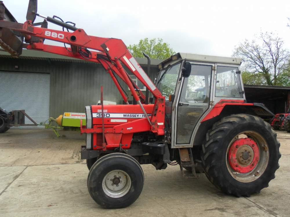 Купувам Трактор MASSEY FERGUSON - 390