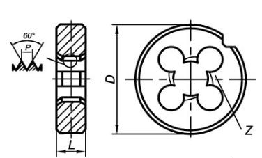 Купувам Плашки кръгли DIN EN 22568 (DIN 223)