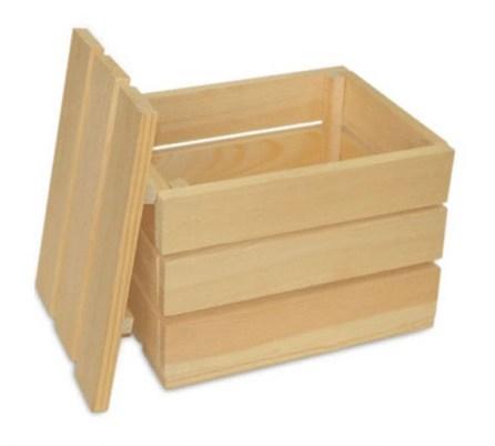 Купувам Опаковки дървени