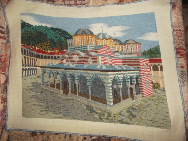Купувам Гоблен Рилски манастир