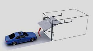 Купувам Секционни гаражни врати - летящо крило