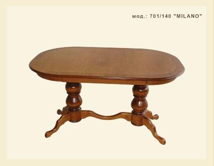 Купувам Дървена маса модел: 701/140 Milano