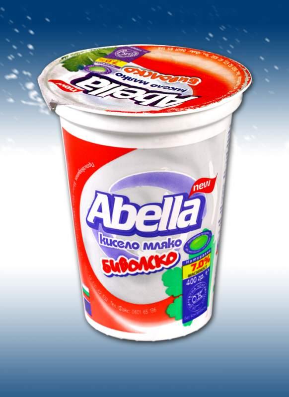 Купувам Биволско кисело мляко 7 % Абелла 400 гр.