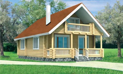 Купувам Дървени къщи - къща Росица