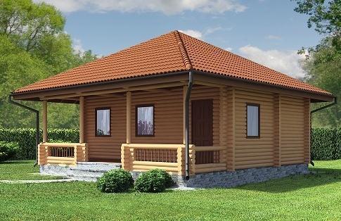 Купувам Къщи от греди - Къща Любомира