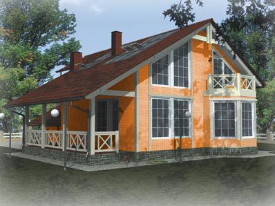 Купувам Къщи панелни дървени - Къща Емилия