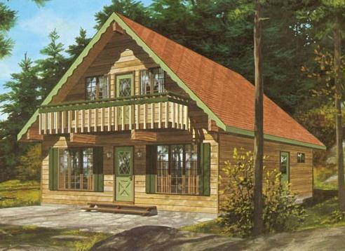 Купувам Къщи дървени - Къща Гергана
