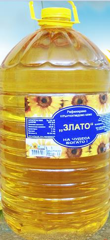 Купувам Слънчогледово олио рафинирано Злато 10л