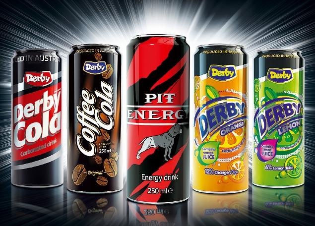 Газирани и енергийни напитки - кен