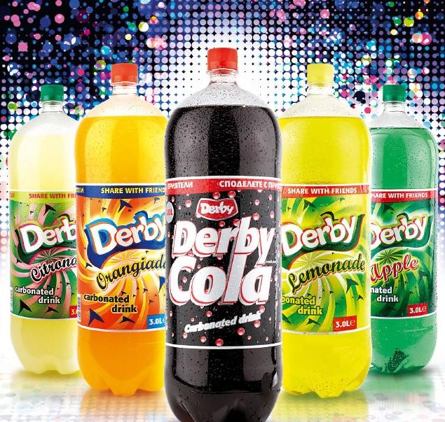Газирани напитки в ПЕТ бутилки