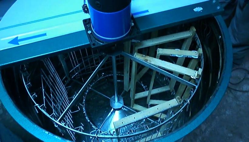 Оборудване за добив на мед от медена пита