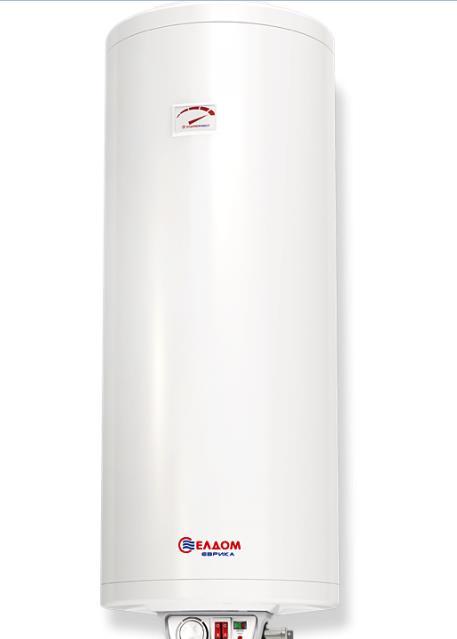 Бойлер 80 л, 2х1000 W, сух нагревател, малък диаметър