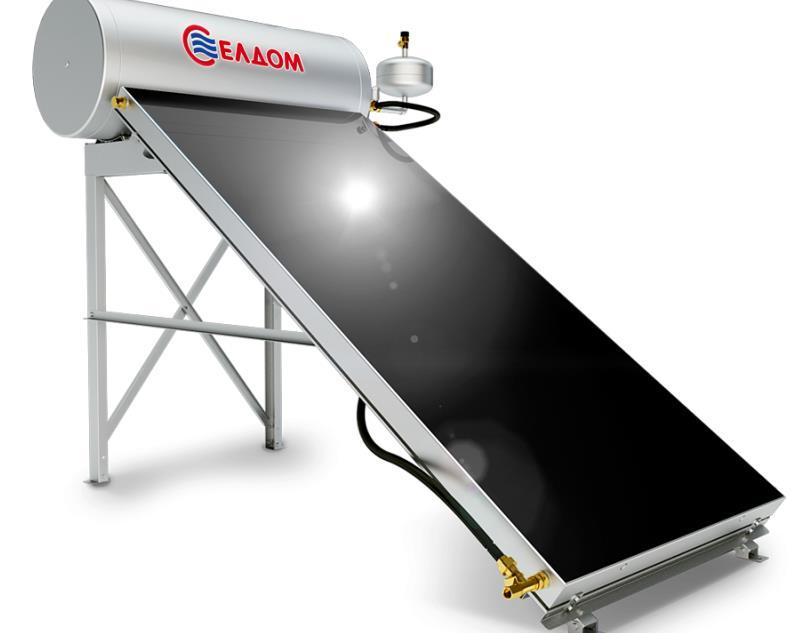Термосифонна система за хоризонтален покрив