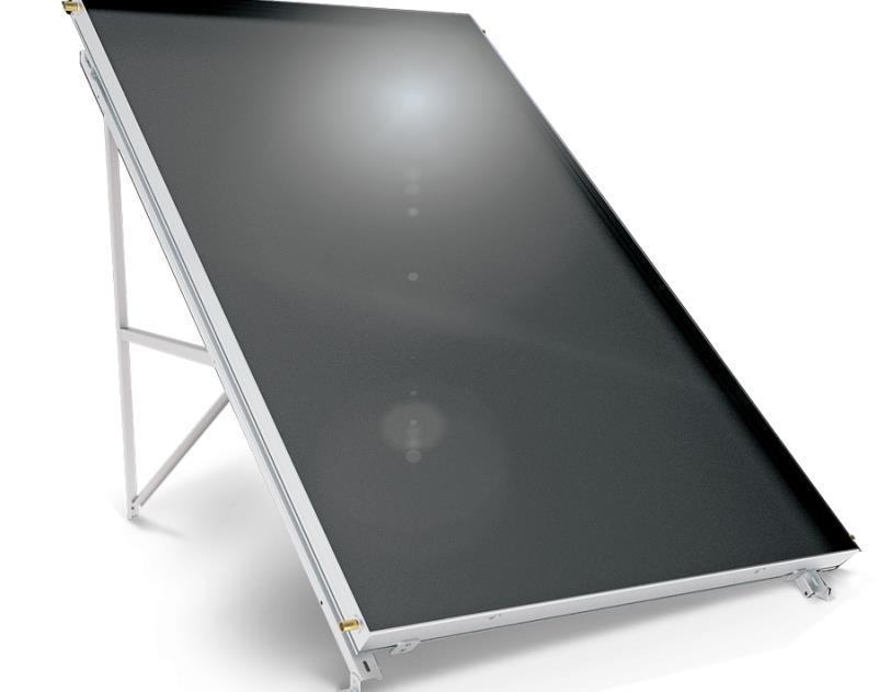Слънчев колектор плосък Black Inox 2,5 кв. м