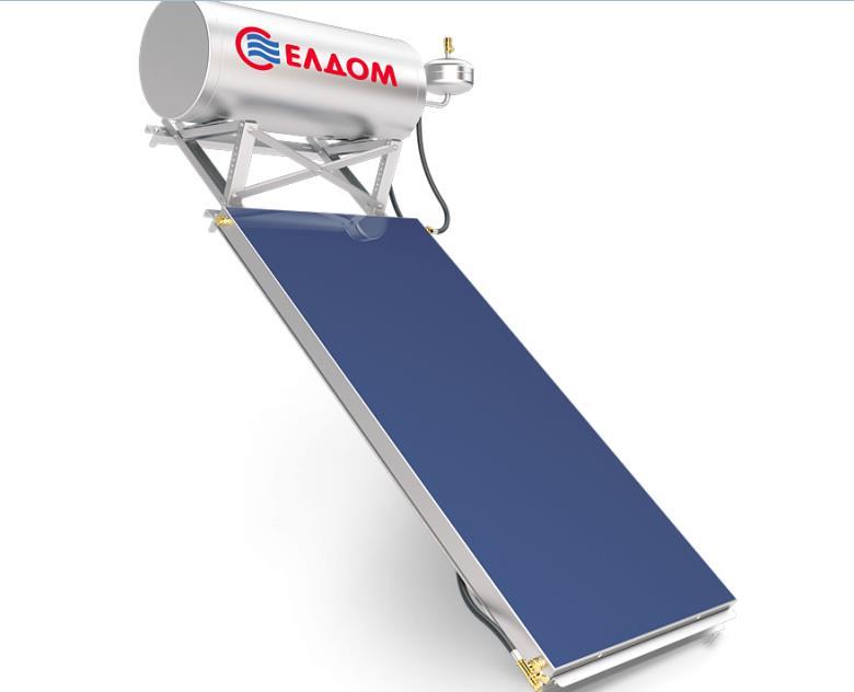 Купувам Термосифонна система за наклонен покрив бойлер 120 л колектор 2 кв.м.