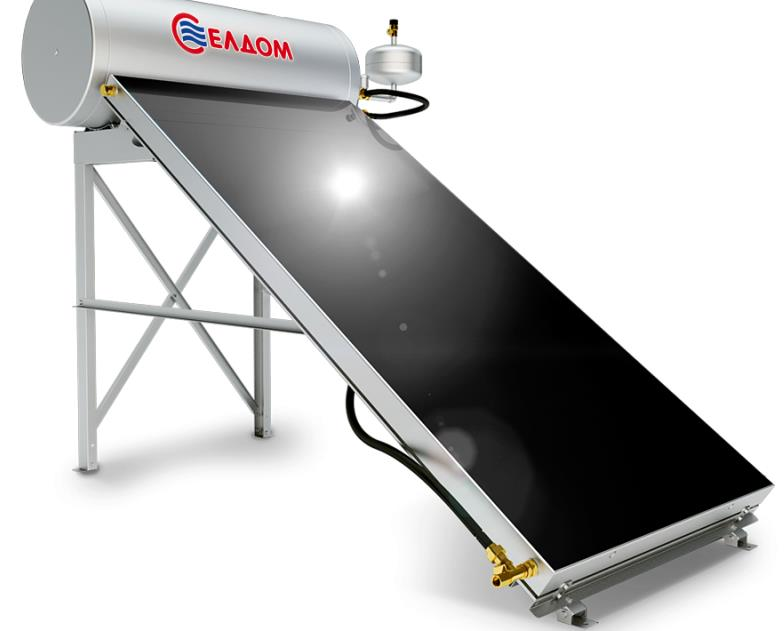Купувам Термосифонна система за хоризонтален покрив бойлер 150 л колектор 2,5 кв.м.