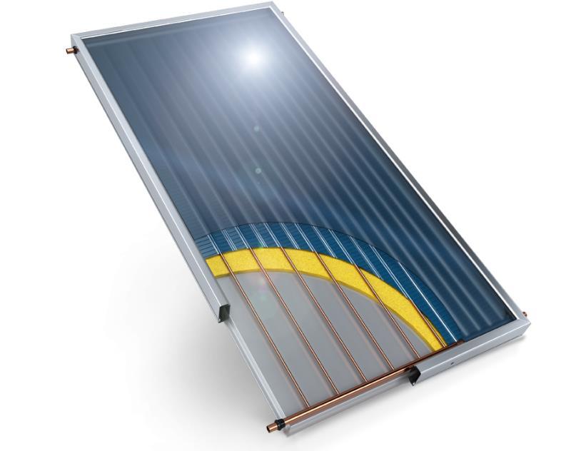 Купувам Слънчев колектор плосък с алуминиев абсорбер 2 кв. м