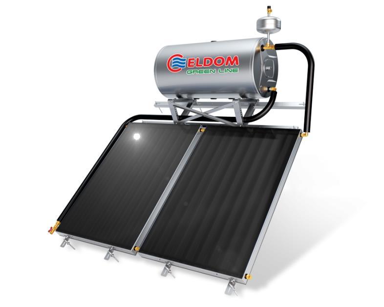 Купувам Термосифонна система за наклонен покрив бойлер 300 л колектори 2 х 2 кв.м.