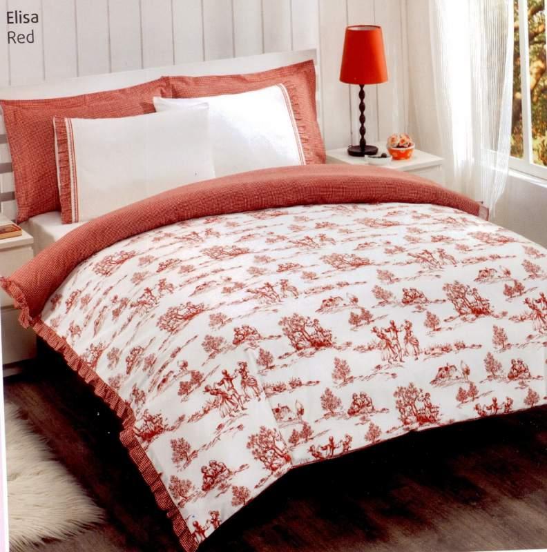 Купувам Спален комплект Elisa - red