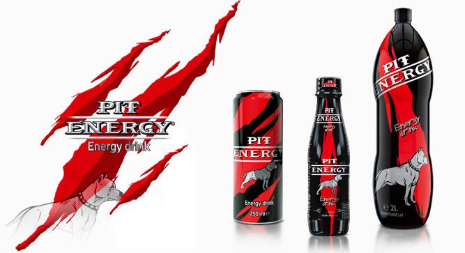 Енергийни напитки PIT ENERGY