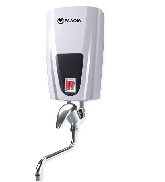 Проточен бойлер ЕЛДОМ батерия с керамична глава 5,0kW