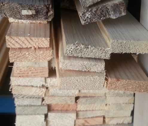 Купувам Дървени летви