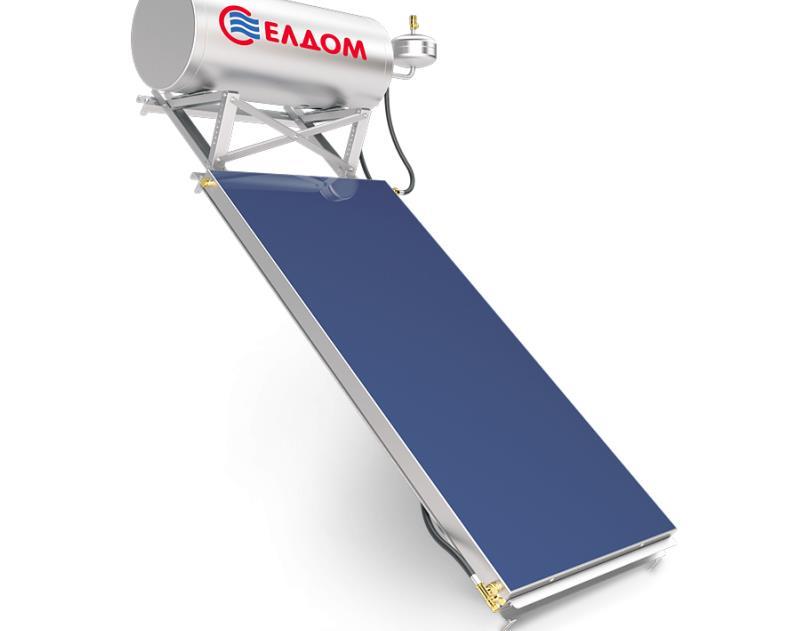 Купувам Термосифонна система за наклонен покрив бойлер 150 л колектор 2.5 кв.м.