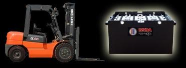 Купувам Тягови панцерни батерии за подемно-транспортна техника 8PzS800 (12V)