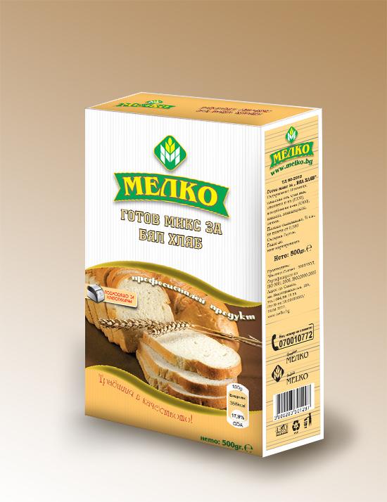 Купувам Готов микс за БЯЛ хляб Мелко