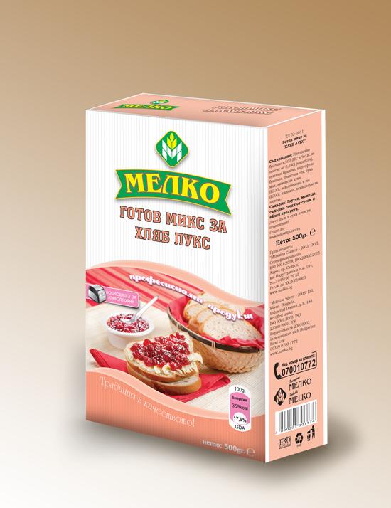 Купувам Готов микс за хляб ЛУКС Мелко