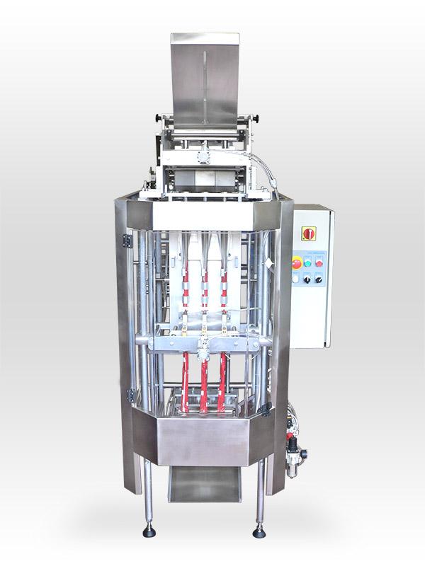 Купувам Вертикален пакетиращ автомат за насипни, прахообразни, течни и полутечни продукти AV 33