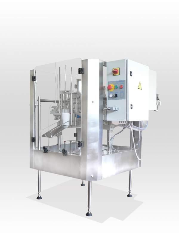 Купувам Ротационни машини за дозиране и запечатване на течни, полутечни и кремообразни продукти AR-62/81