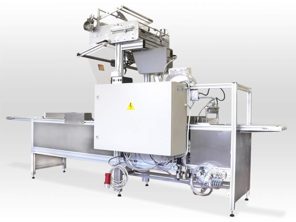 """Купувам """"Flow Pack"""" опаковъчна машина за продукти с големи размери и неправилна форма А-30"""