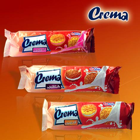 """Купувам Бисквити """"Crema"""" с крем ванилия, капучино и асорти"""
