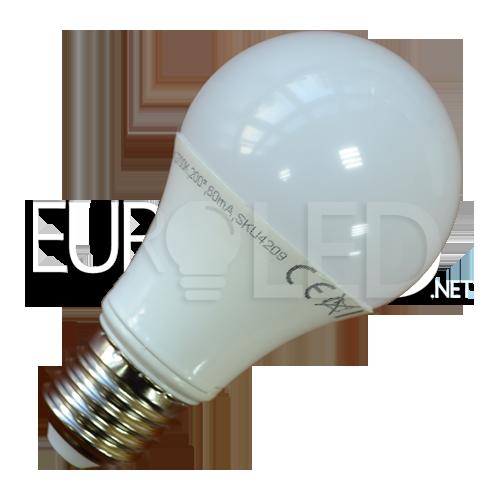 Купувам LED Крушка - 10W E27 A60 Термо Пластик 4500К