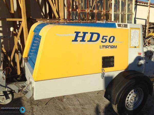 Купувам Машина за замазка UTIFORM HD50