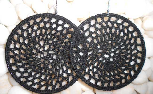 Купувам Плетени обеци / Crochet earrings