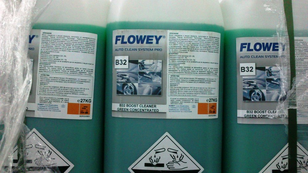 Купувам Автошампоан B32 BOOST CLEANER GREEN CONCENTRATED