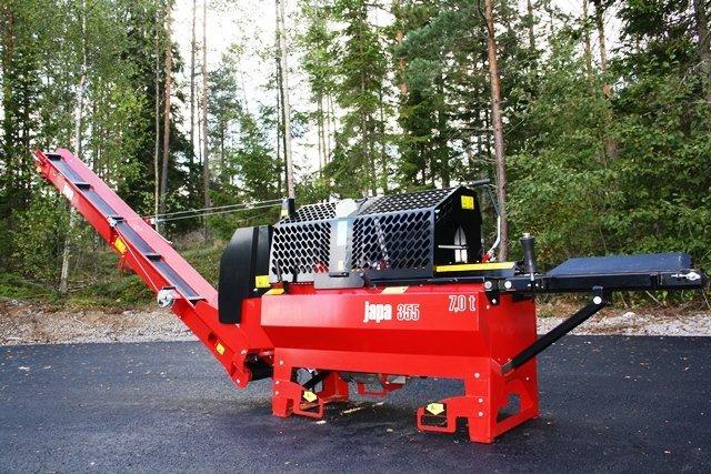 Купувам JAPA 355 E машина за рязане и цепене на дърва / firewood processor/