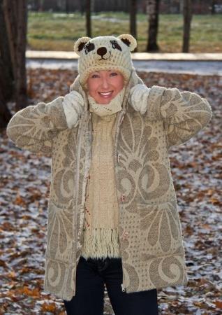 "Купувам Палто - ""Жакард"" и шапка ""Мече"""