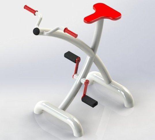Купувам Фитнес оборудване на открито модел TSF-1010 Велоергометър