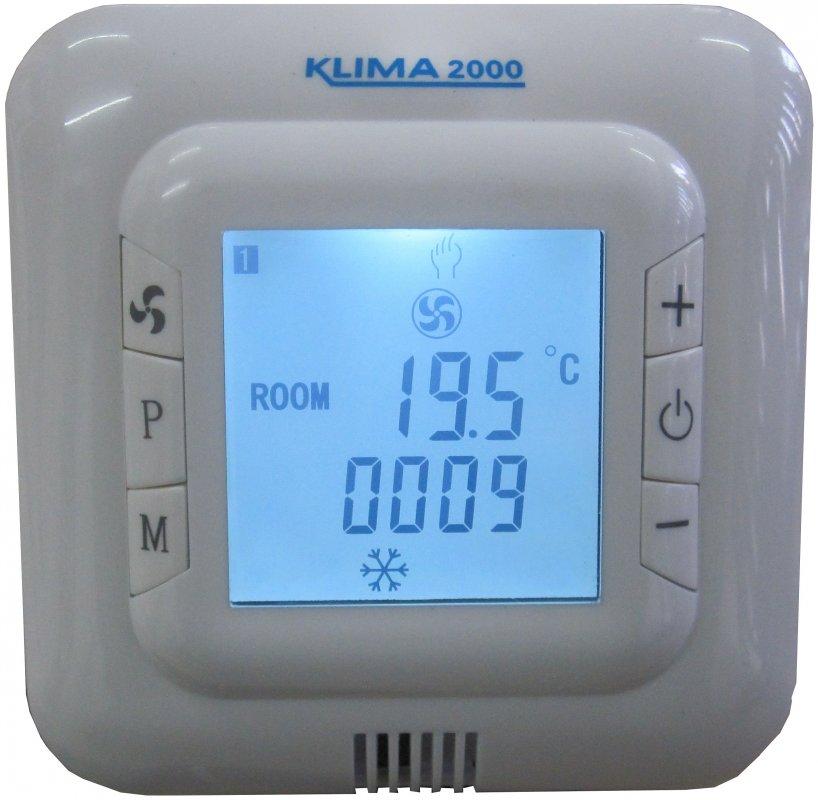 Купувам UN-01 PRG стаен термостат за управление на вентилаторни конвектори със седмичен програматор