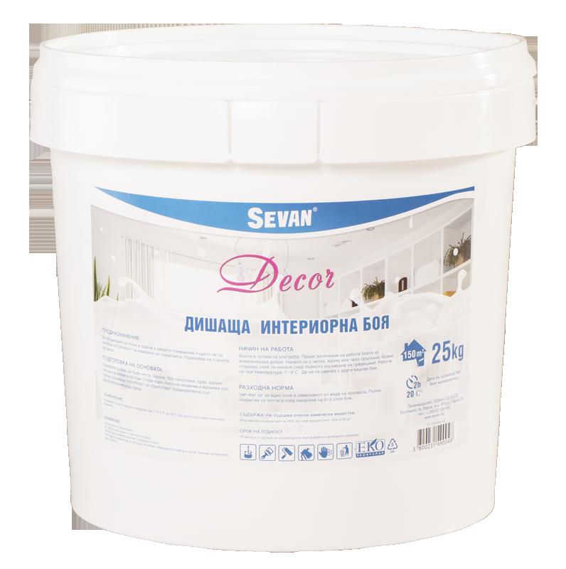 Купувам Дишаща интериорна боя - Decor 25 kg